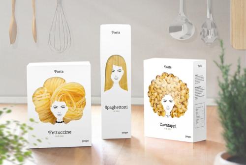 Voorbeeld verpakking design